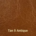 Cowhide Leather Cover Material Colour #5 Tan with Antique Embossing