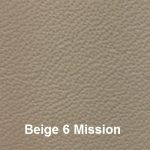 Cowhide Leather Cover Material Colour #6 Beigh with Mission Embossing