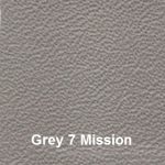 Cowhide Leather Cover Material Colour #7 Grey with Mission Embossing