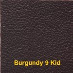 Cowhide Leather Cover Material colour #9 Burgundy with Kid Embossing