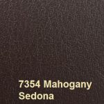 Eurobond Cover Material colour 7354 Mahogany with Sedona Embossing